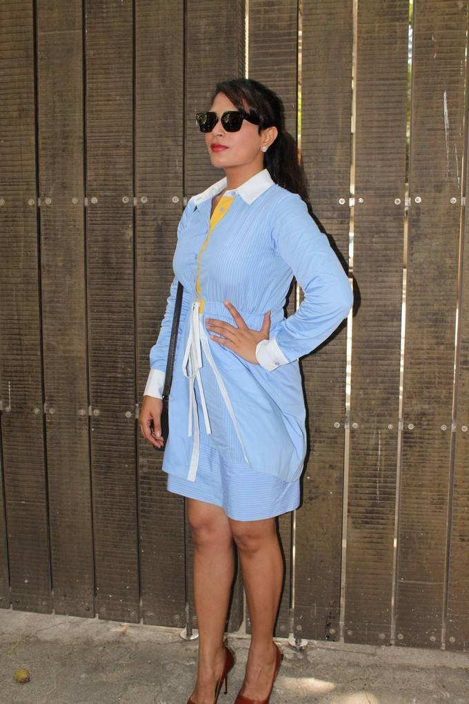 Richa Chadda At Khoon Aali Chithi Special Screening Stills