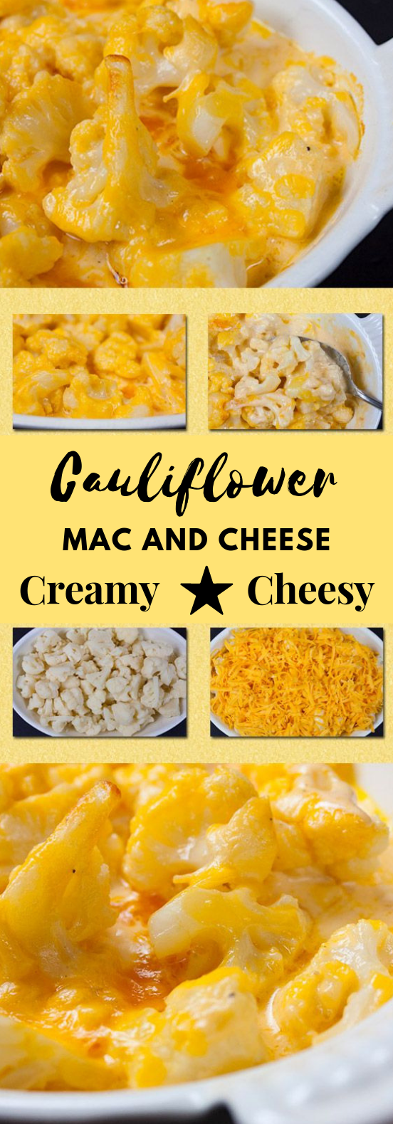 Cauliflower Mac and Cheese #keto #cauliflower