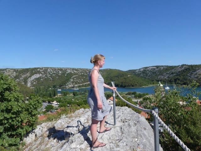Kroatien Rundreise Camping Zelten Campingtrip Individual reisen Urlaub Sommer Dalmatien Skradin