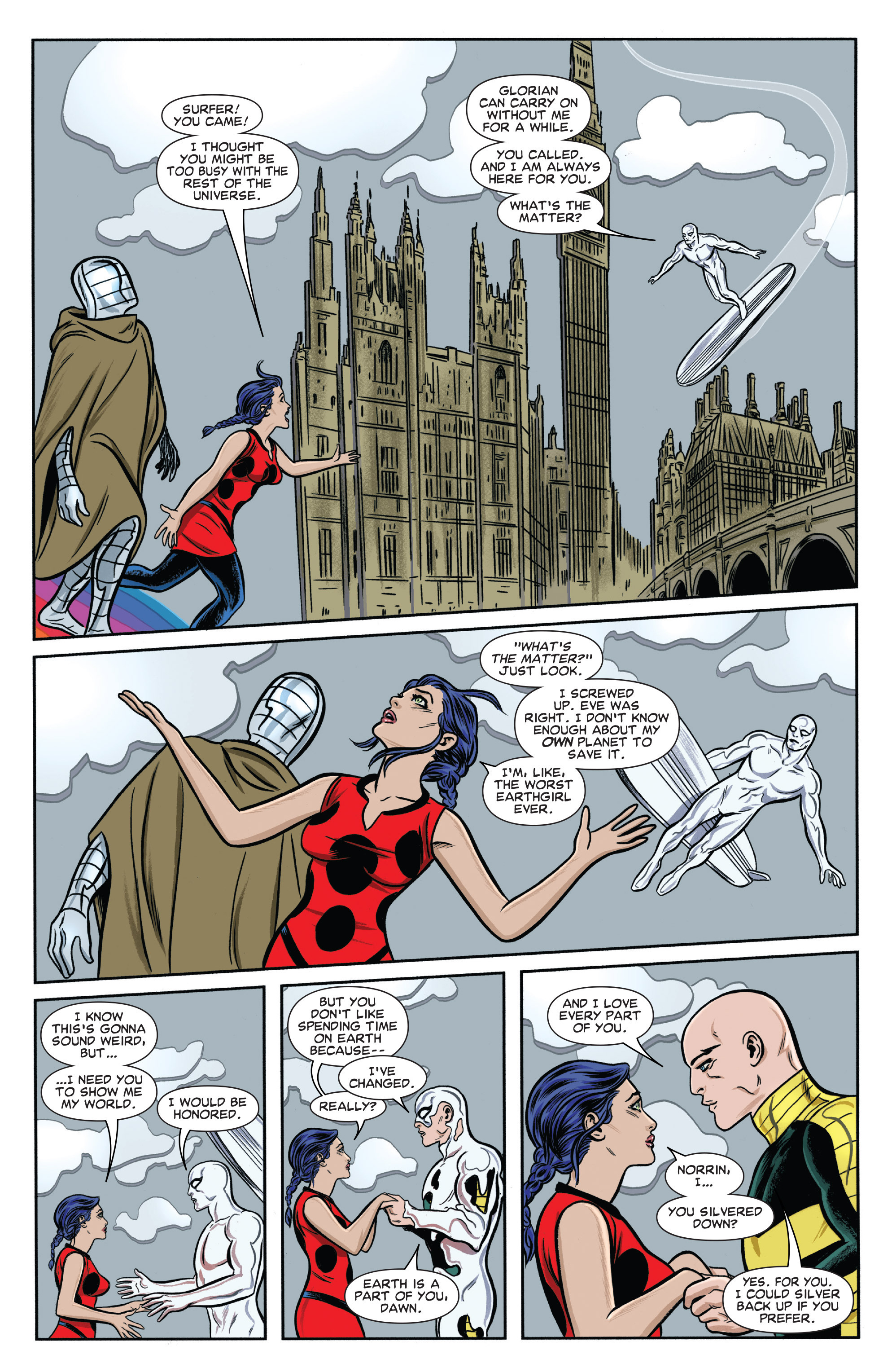 Read online Silver Surfer (2014) comic -  Issue #14 - 18
