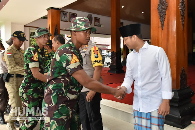Plt. Bupati Trenggalek Nur Arifin Lepas Taruna Latsitarda Nusantara XXXIX