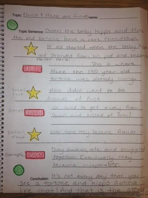 Miss Dupart S Third Grade Class Writing Stoplight
