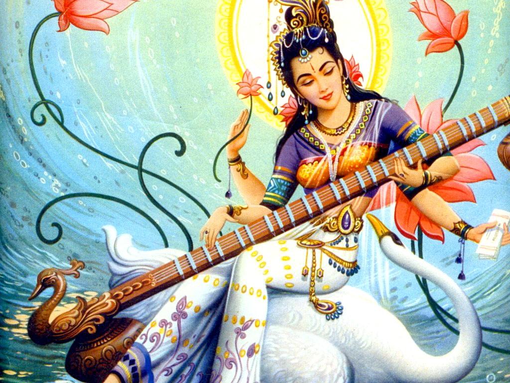 Goddess Saraswati Hd Wallpapers Maa Saraswati Hd Wallpapers Maa Saraswati Images Maa