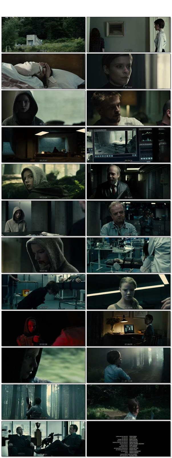 Screen Shot Of Morgan 2016 300MB Full Movie Hindi Dubbed Free Download 480P BRRip Small Size PC Movie