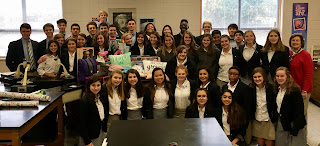 Montgomery Catholic Students Assist the Christmas Clearinghouse 2
