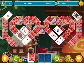 Solitaire Christmas Match 2 Cards Portable