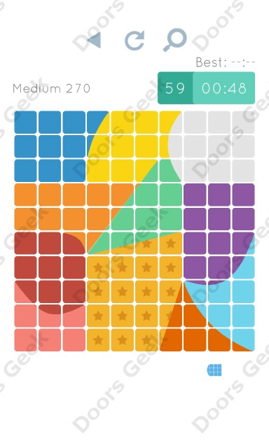 Cheats, Walkthrough for Blocks and Shapes Medium Level 270