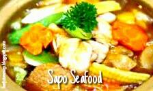 Resep memasak sapo seafood
