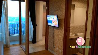 APARTEMEN Cinere Bellevue Suite 2BR Corner Cantik, Rapi, Bersih