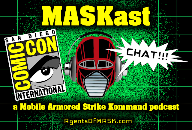 MASKast Chat: Bill Higa Interview / San Diego Comic Con Panel