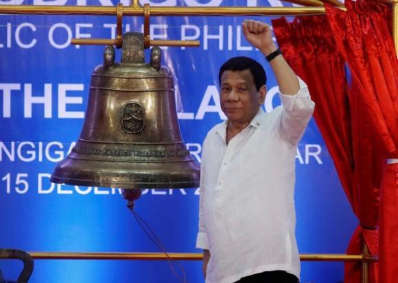Tổng thống Duterte đề xuất đổi tên nước thành Maharlika