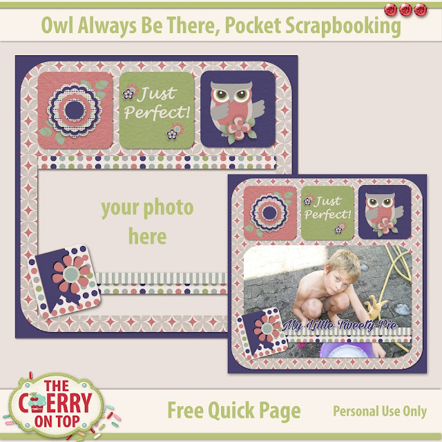 Pocket Scrapbooking freebie