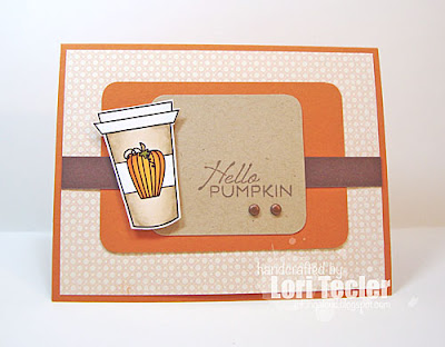 Hello Pumpkin card-designed by Lori Tecler/Inking Aloud-stamps and digital images from Verve Stamps