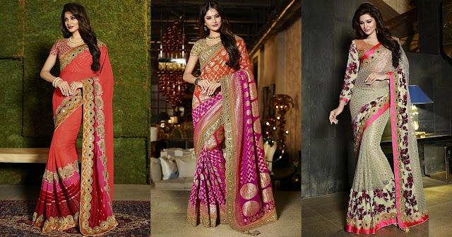 Designer Sarees for Raksha Bandhan Gift