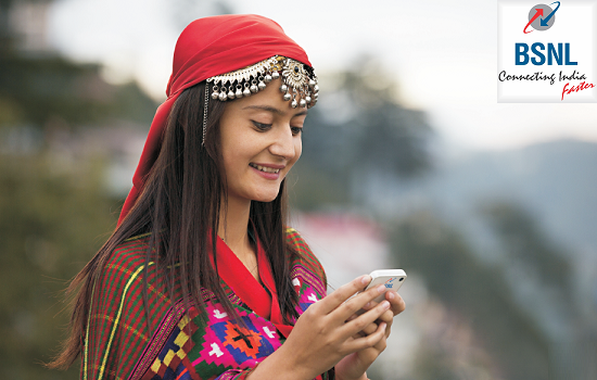 BSNL's promotional offer for Smart phone users: 1 GB Data Free for 30 days