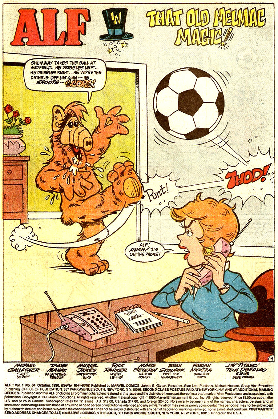 Read online ALF comic -  Issue #34 - 3