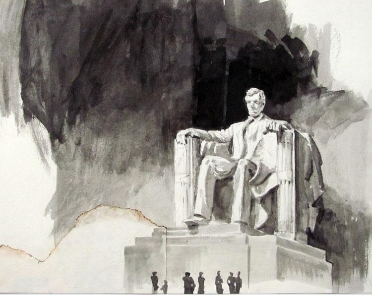 Gurney Journey Lincoln Memorial