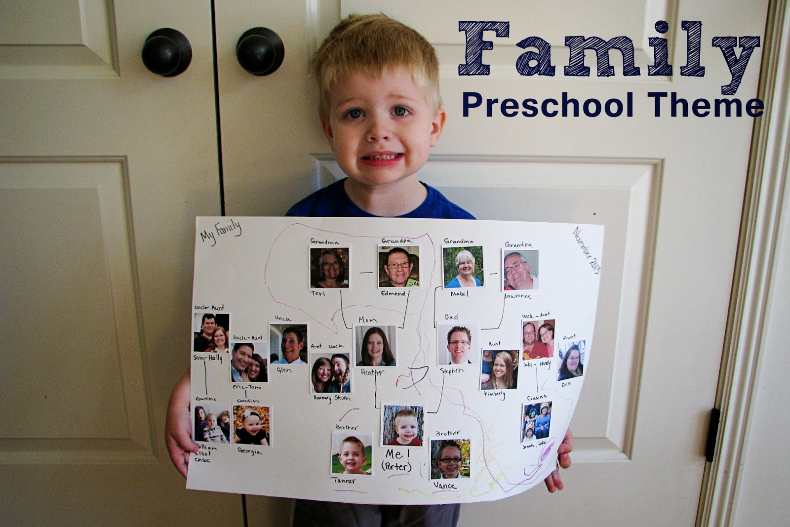 Mommy's Little Helper: Family Preschool Theme