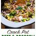 Crockpot | Slow Cooker Beef and Broccoli