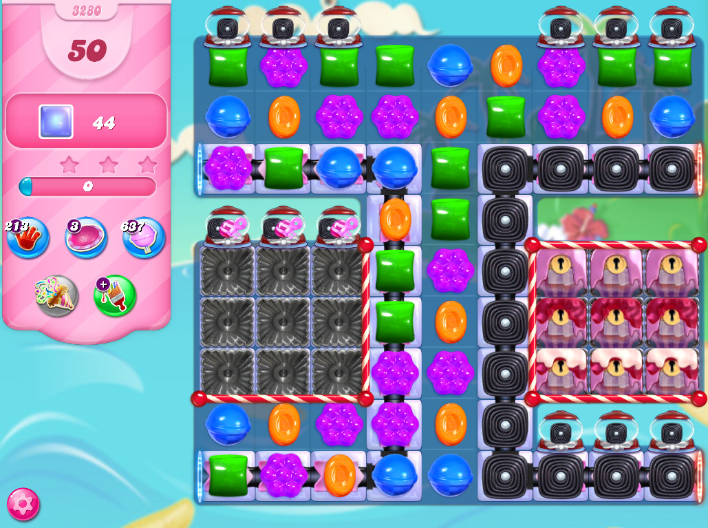 Candy Crush Saga level 3280