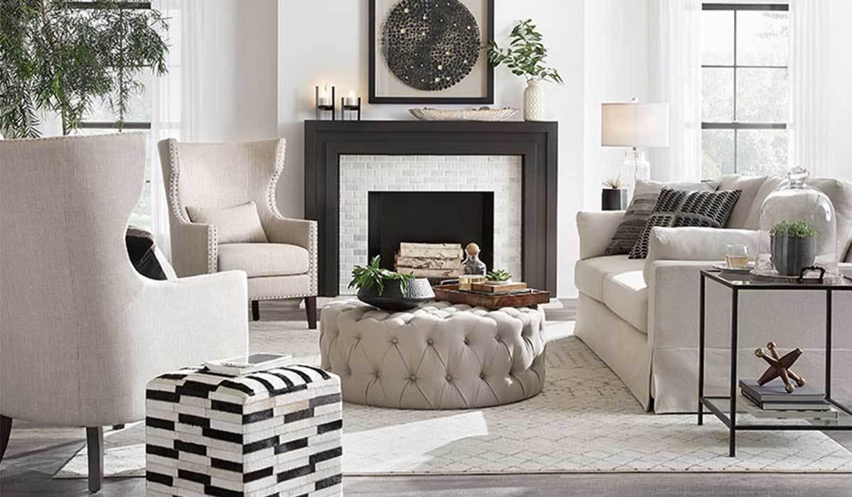 Fine White Sofa Ideas For A Stylish Living Room Home And Creativecarmelina Interior Chair Design Creativecarmelinacom