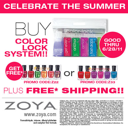 Treat yourself to huge savings with ZOYA Coupons: 2 promo codes, and 1 deal for February 12222.