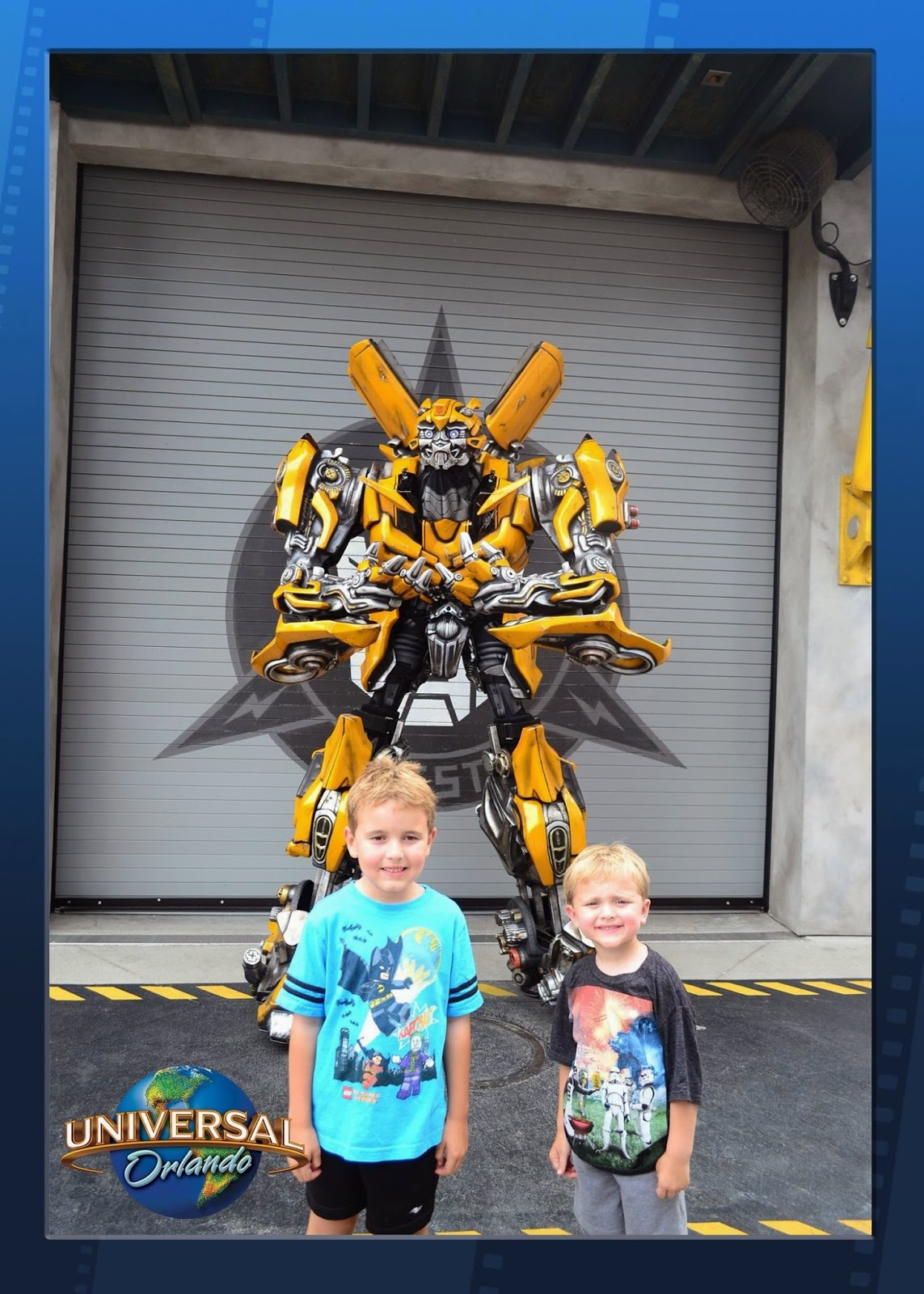 Transformers ride Universal Studios Orlando