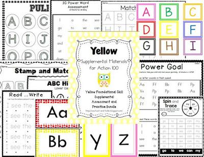 Action 100 Yellow Supplemental Bundle