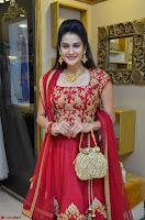 Jenny Honey in Stunning Dark Red Anarkali Dress at Splurge   Divalicious curtain raiser ~ Exclusive Celebrities Galleries 067.JPG