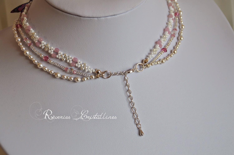 bijoux mariage perles et papillon