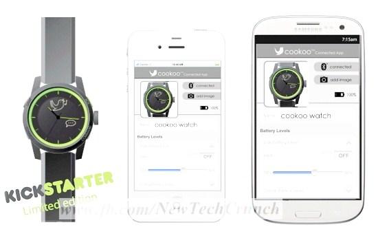 new cuckoo wrist watch app
