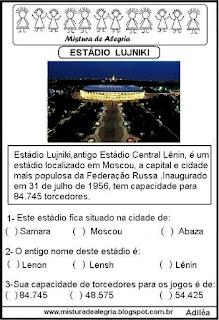 Estádio Lujniki copa mundial Rússia