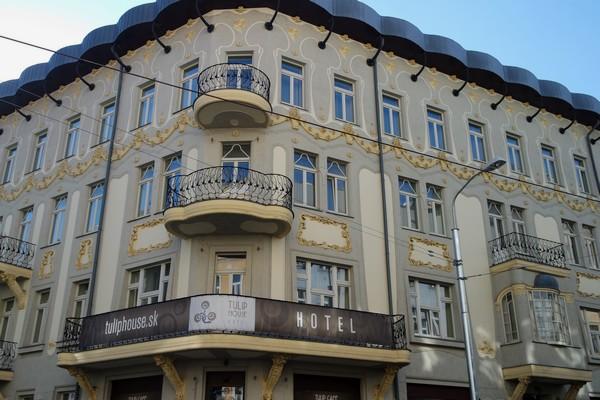 bratislava art nouveau tulip hotel house