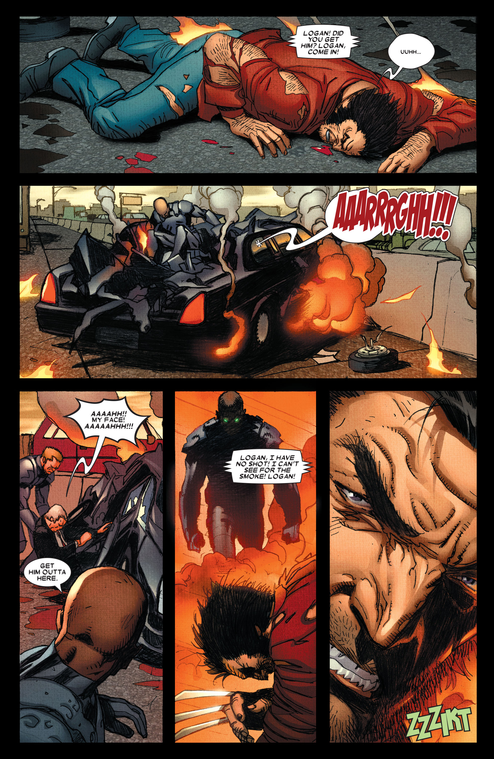 Read online Wolverine: Weapon X comic -  Issue #4 - 12