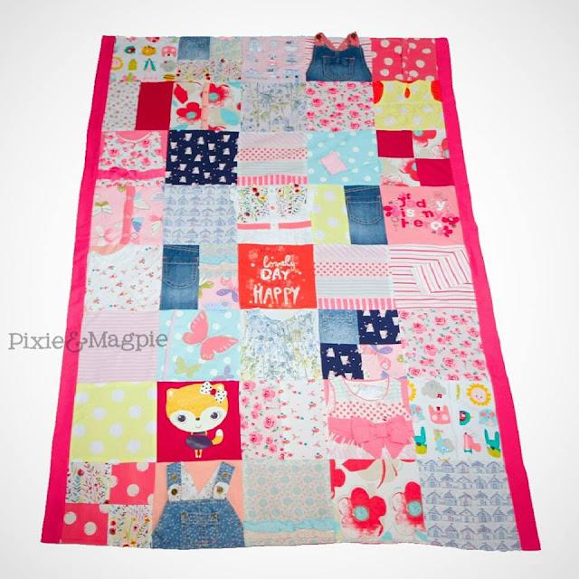 Pixie&Magpie handmade blanket