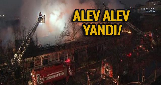 Yenidoğan'da korkutan yangın!