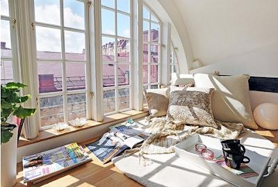Crear un rincón de lectura, confortables, acogedor, íntimo que se ajuste a tu estilo