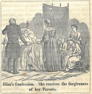 Image of Eliza's confession