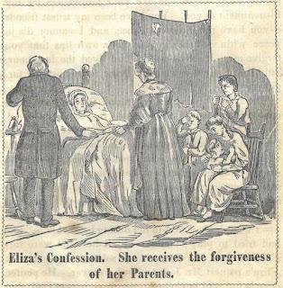Image of Eliza's confession