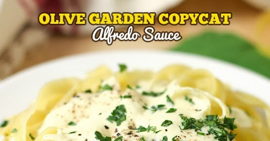 Olive Garden Copycat Alfredo Sauce New Video