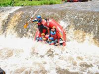 Karo Adventure, Rafting Extrim di Songgon banyuwangi
