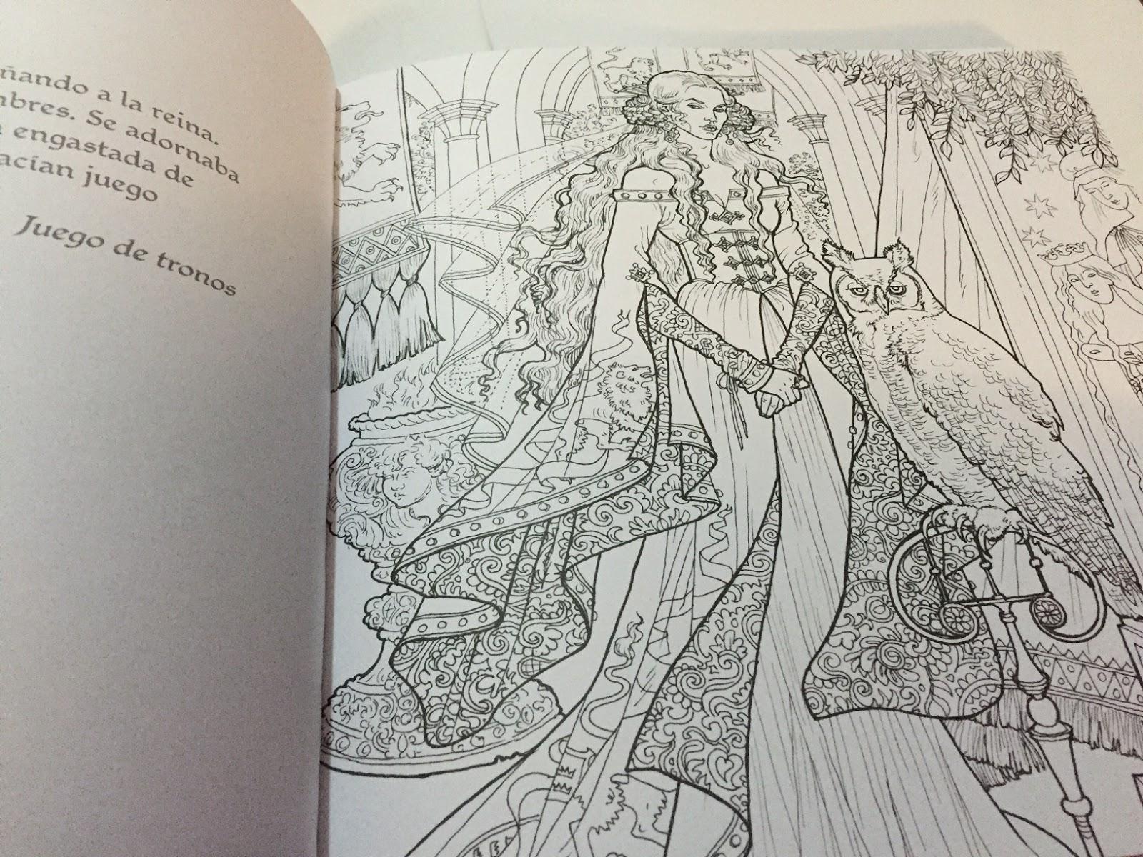 El libro oficial de Juego de Tronos para colorear - Hojas Mágicas