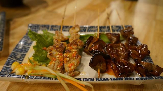 Taichan dan Shitake Mushroom di Shinjuku Japanese Street Food Pontianak