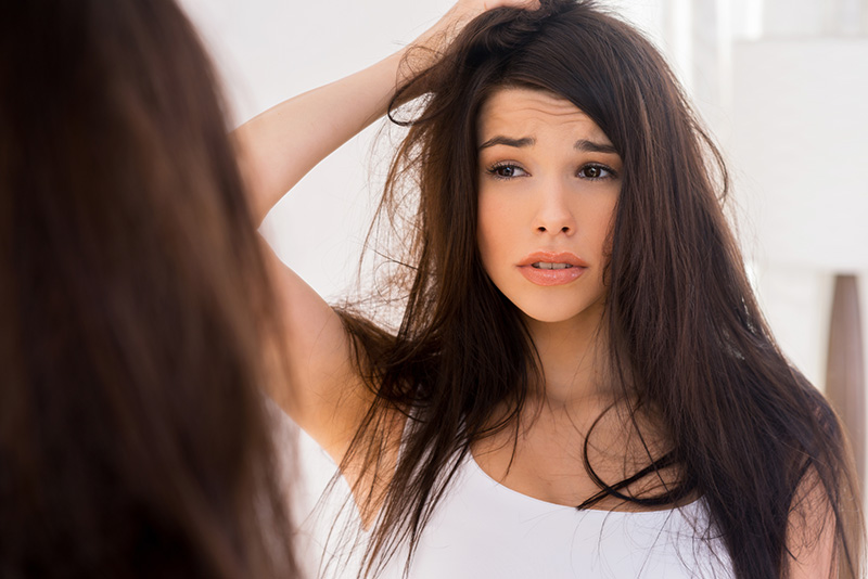 Stres saç yolduruyor