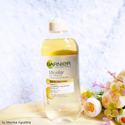 meylisa agustina: Garnier Micellar Oil-Infused Cleansing Water Review