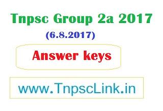 TNPSC Group 2a  exam 2017 keya