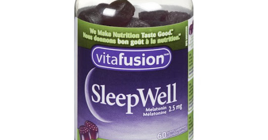 Vitafusion SleepWell: Helping Canadians get a quality night's sleep #ad