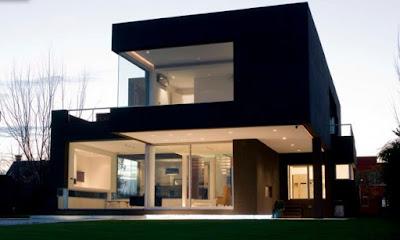 แบบห้องครัวสีดำ