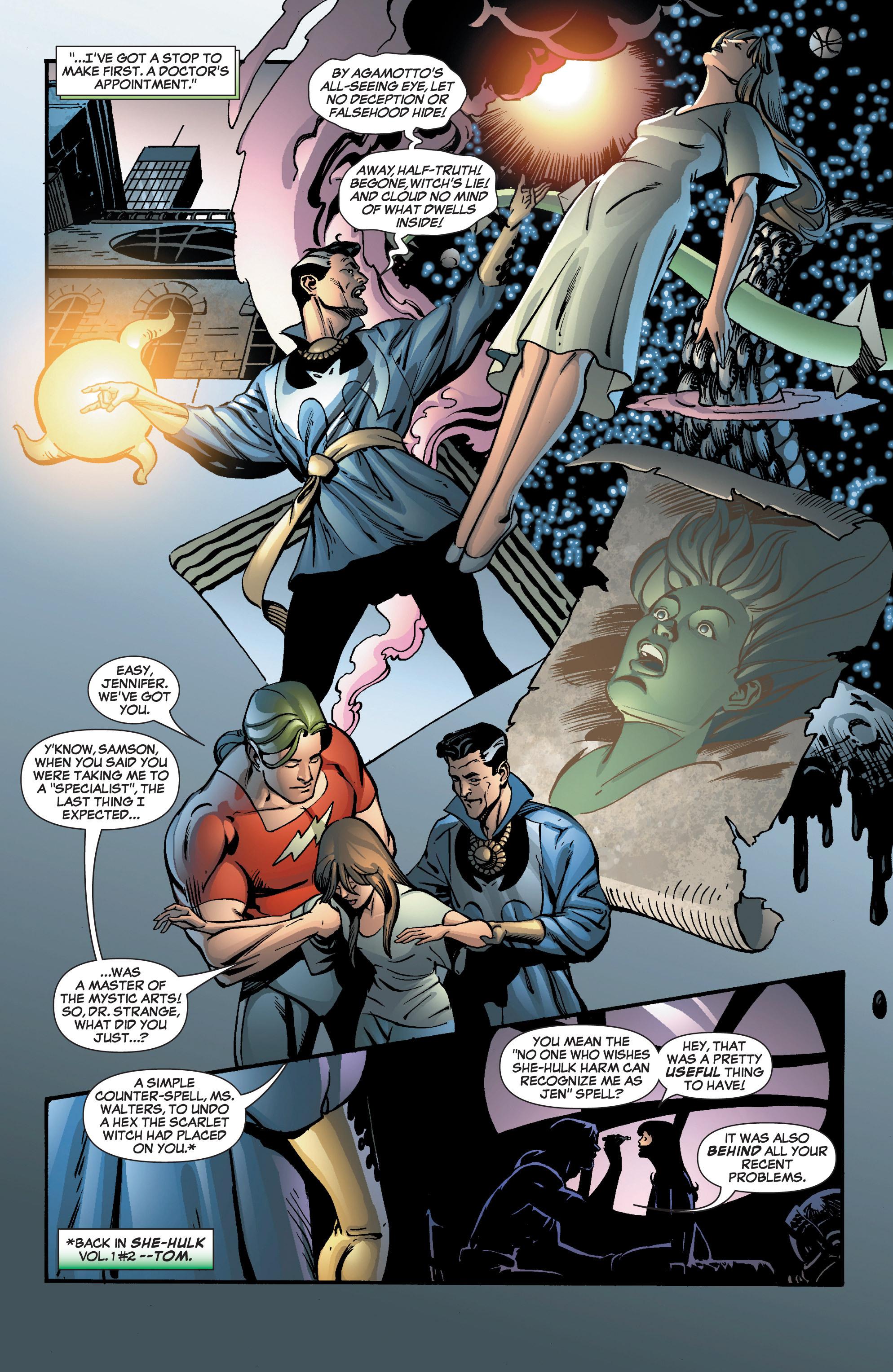 Read online She-Hulk (2005) comic -  Issue #8 - 4