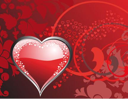 Imagenes De Corazones Con Brillos Y Animados De Amor Para Enviar
